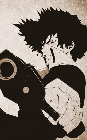Spike Spiegel HD Mobile Wallpaper