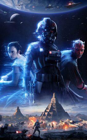 Star Wars - Battlefront II HD Mobile Wallpaper