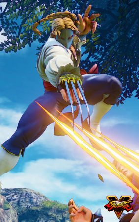 Vega Street Fighter 5 Hero HD Mobile Wallpaper