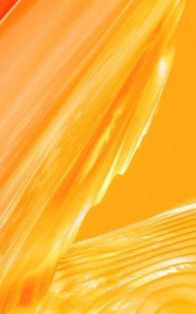 Yellow Liquid Oneplus 5T Stock HD Mobile Wallpaper