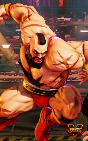 Zangief Street Fighter 5 Hero HD Mobile Wallpaper