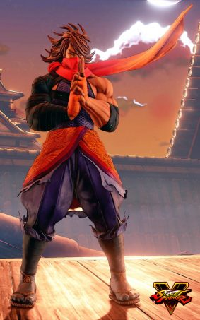 Zeku Street Fighter 5 Hero HD Mobile Wallpaper