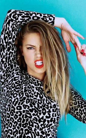 Amber Heard Hot Photoshoot HD Mobile Wallpaper
