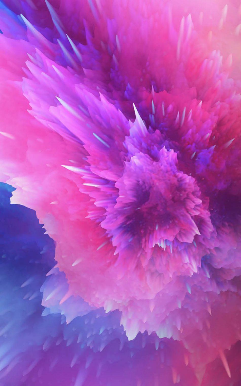 Color Splash Art HD Mobile Wallpaper