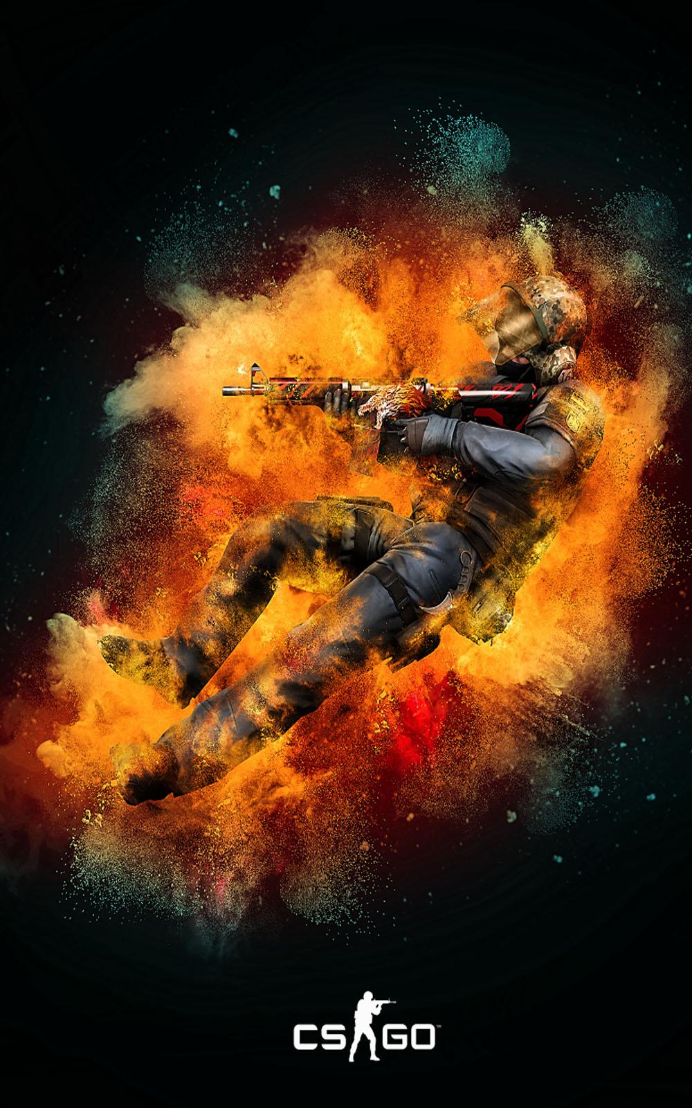 Counter Strike Global Offensive 4K Ultra HD Mobile Wallpaper