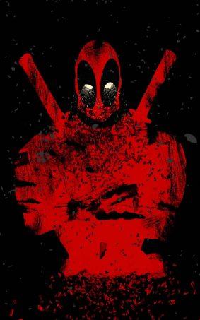 Deadpool Abstract HD Mobile Wallpaper