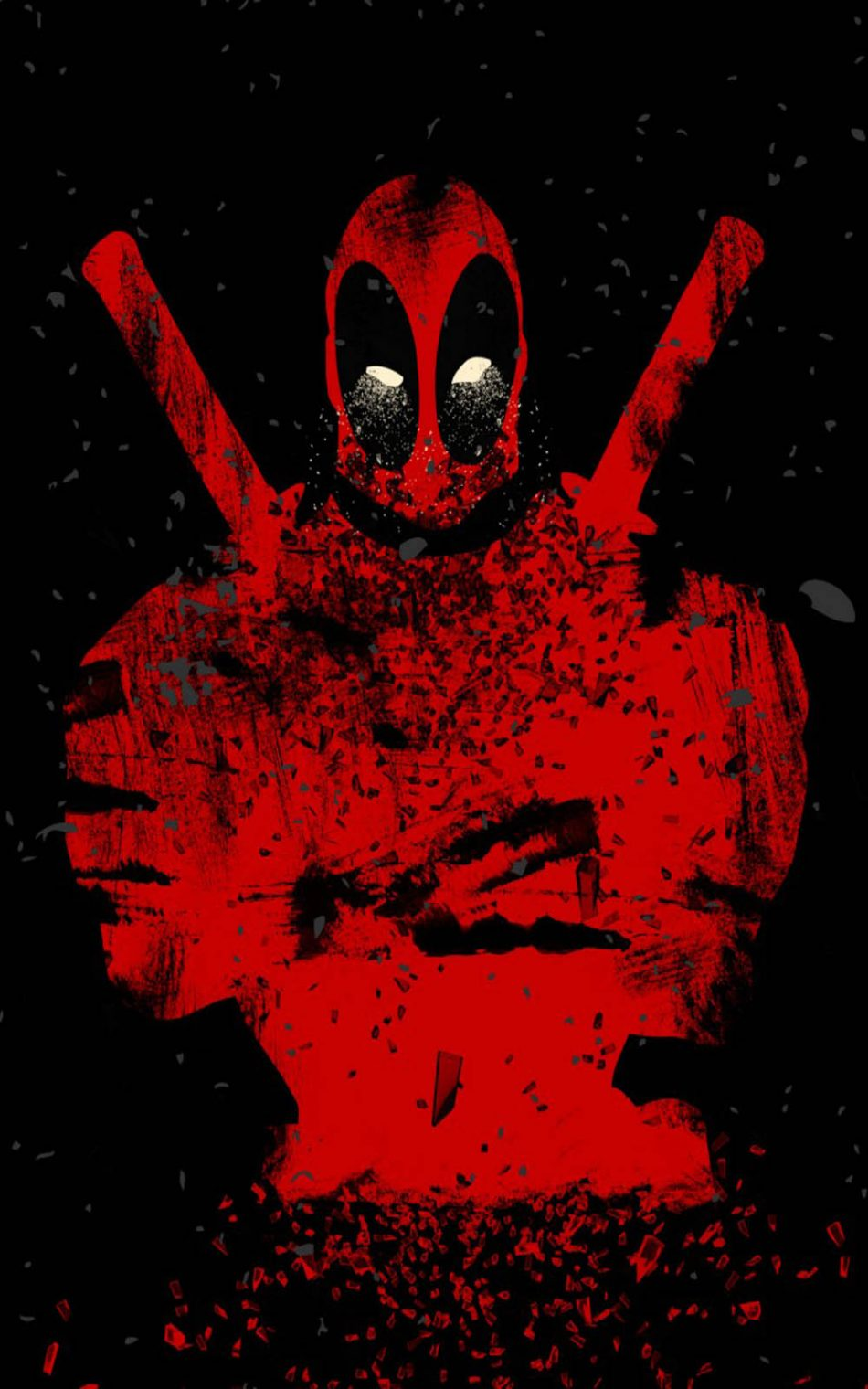 Download Deadpool Abstract Free Pure 4k Ultra Hd Mobile Wallpaper