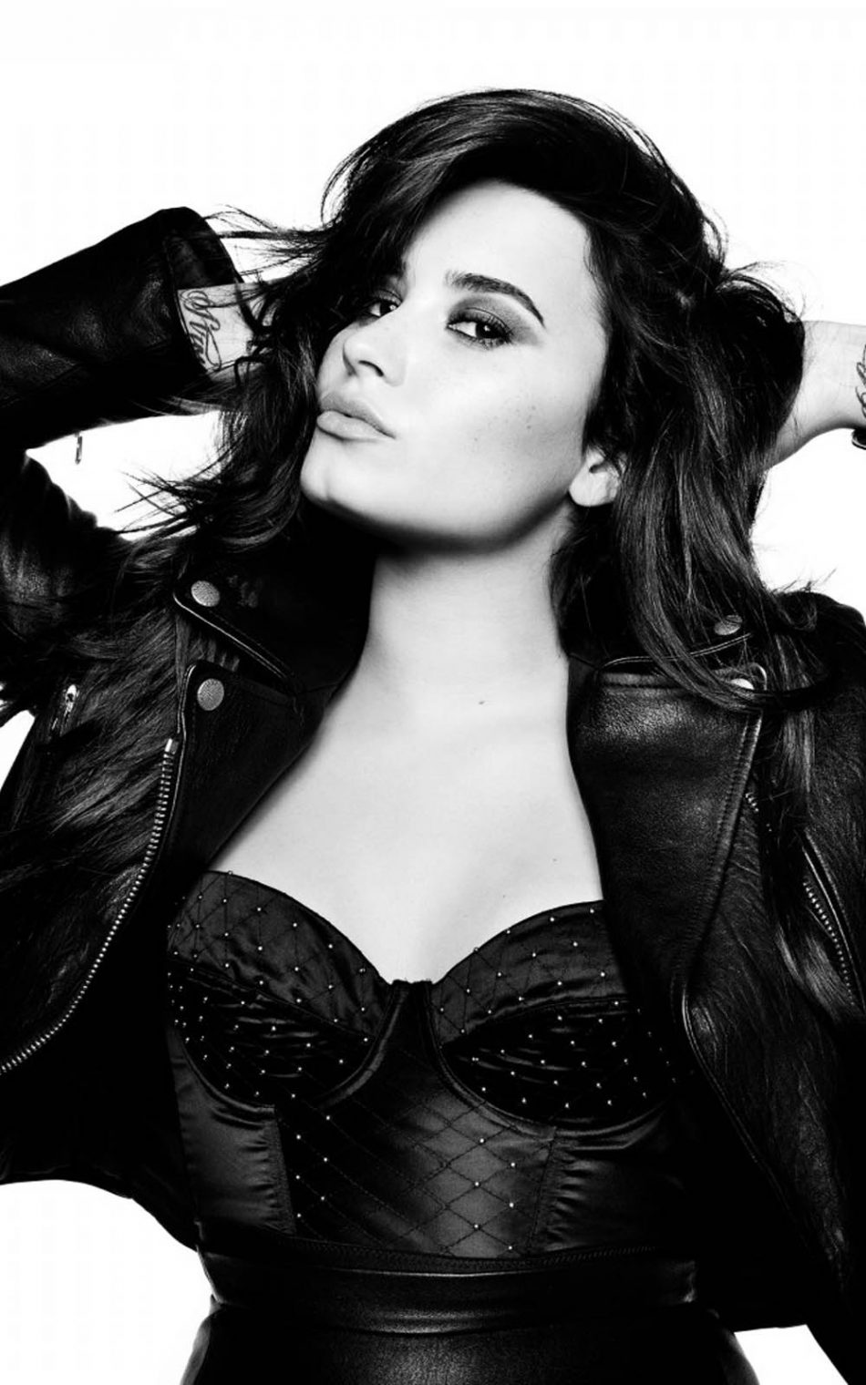Demi Lovato Without The Love HD Mobile Wallpaper