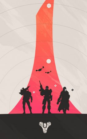 Destiny Hunter Warlock Titan HD Mobile Wallpaper