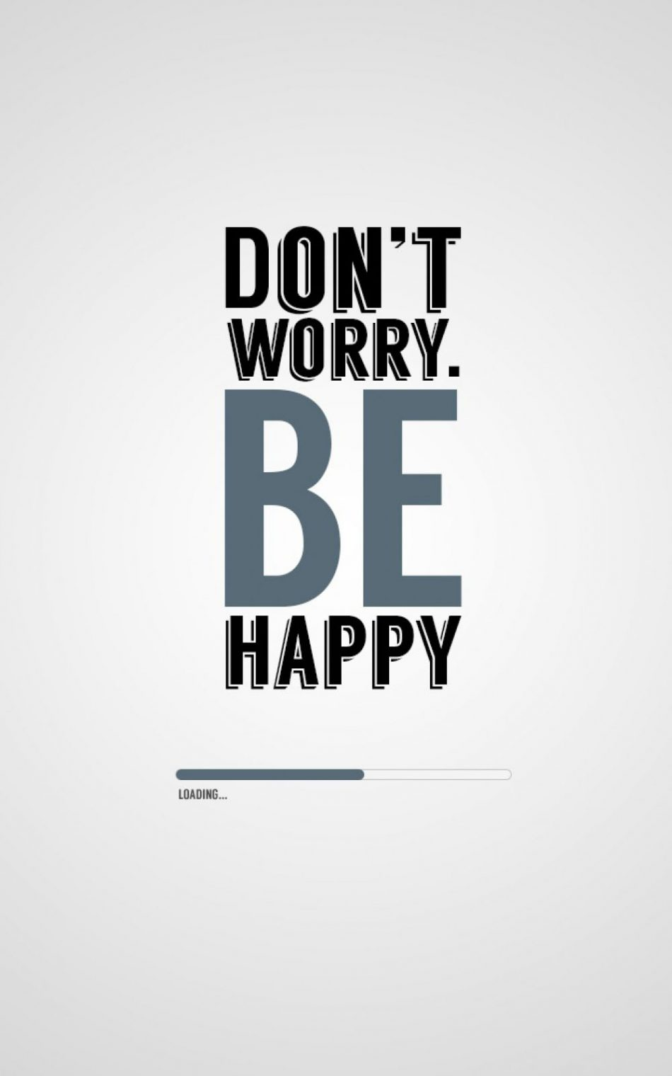 Don't Worry Be Happy HD Mobile Wallpaper