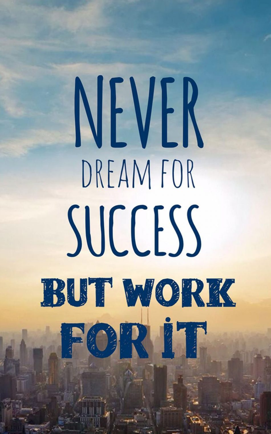 Dream Success Work HD Mobile Wallpaper