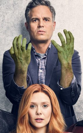 Hulk Scarlet Witch In Avengers Infinity War HD Mobile Wallpaper
