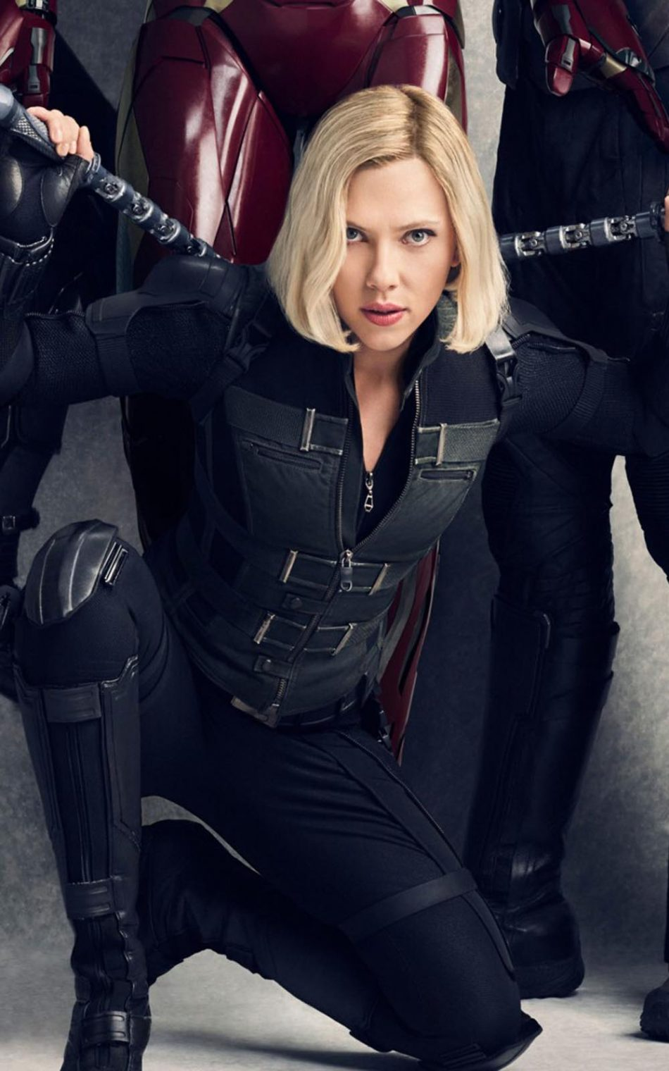 Scarlett Johansson In Avengers Infinity War HD Mobile Wallpaper