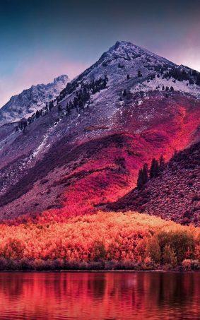 Sierra Nevada Mountains Landscape HD Mobile Wallpaper