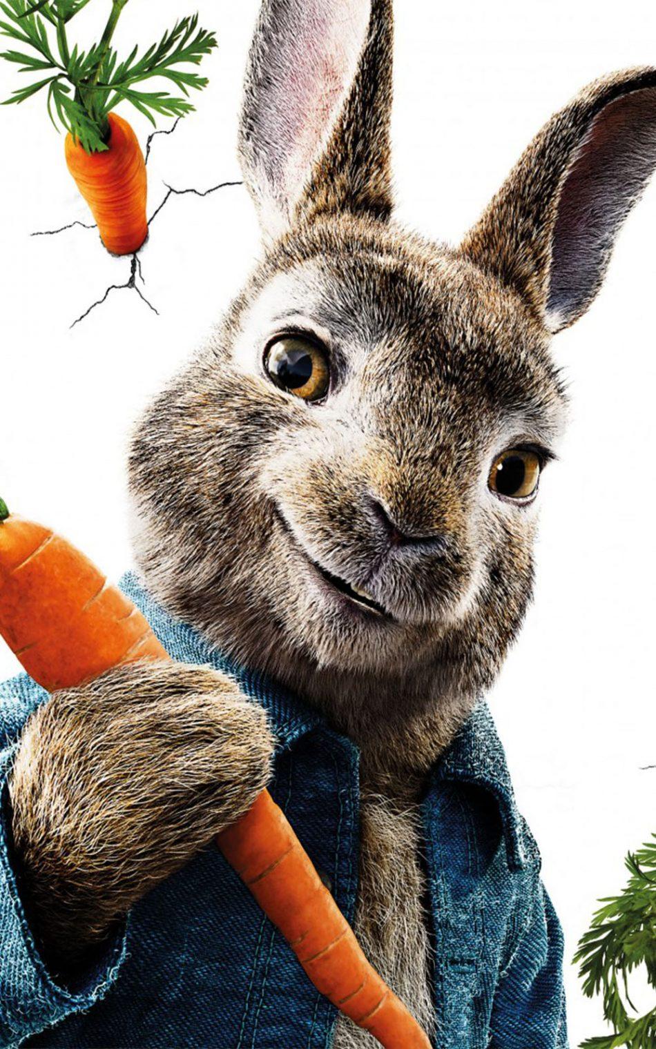 Peter Rabbit Movie HD Mobile Wallpaper
