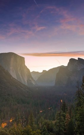 Yosemite Valley Sierra Nevada HD Mobile Wallpaper
