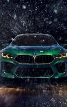 BMW Concept M8 Gran Coupe HD Mobile Wallpaper