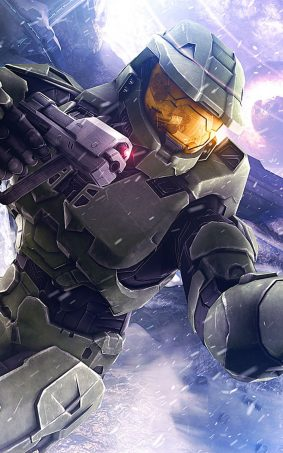 Master Chief Halo 3 HD Mobile Wallpaper