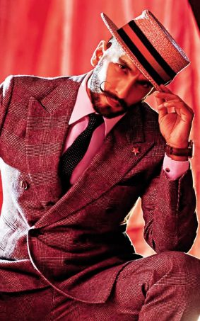Ranveer Singh Moustache Style Photoshoot HD Mobile Wallpaper