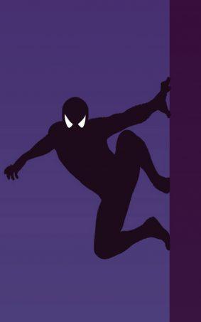 Spider Man Minimal HD Mobile Wallpaper