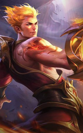 The Son of Flame Valir Mobile Legends HD Mobile Wallpaper