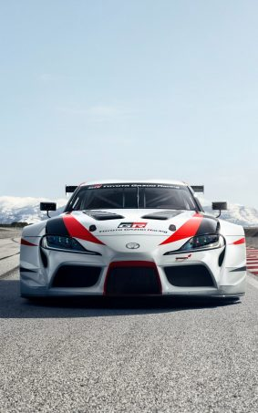 Toyota GR Supra Racing Concept HD Mobile Wallpaper