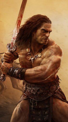 Conan Exiles Game HD Mobile Wallpaper