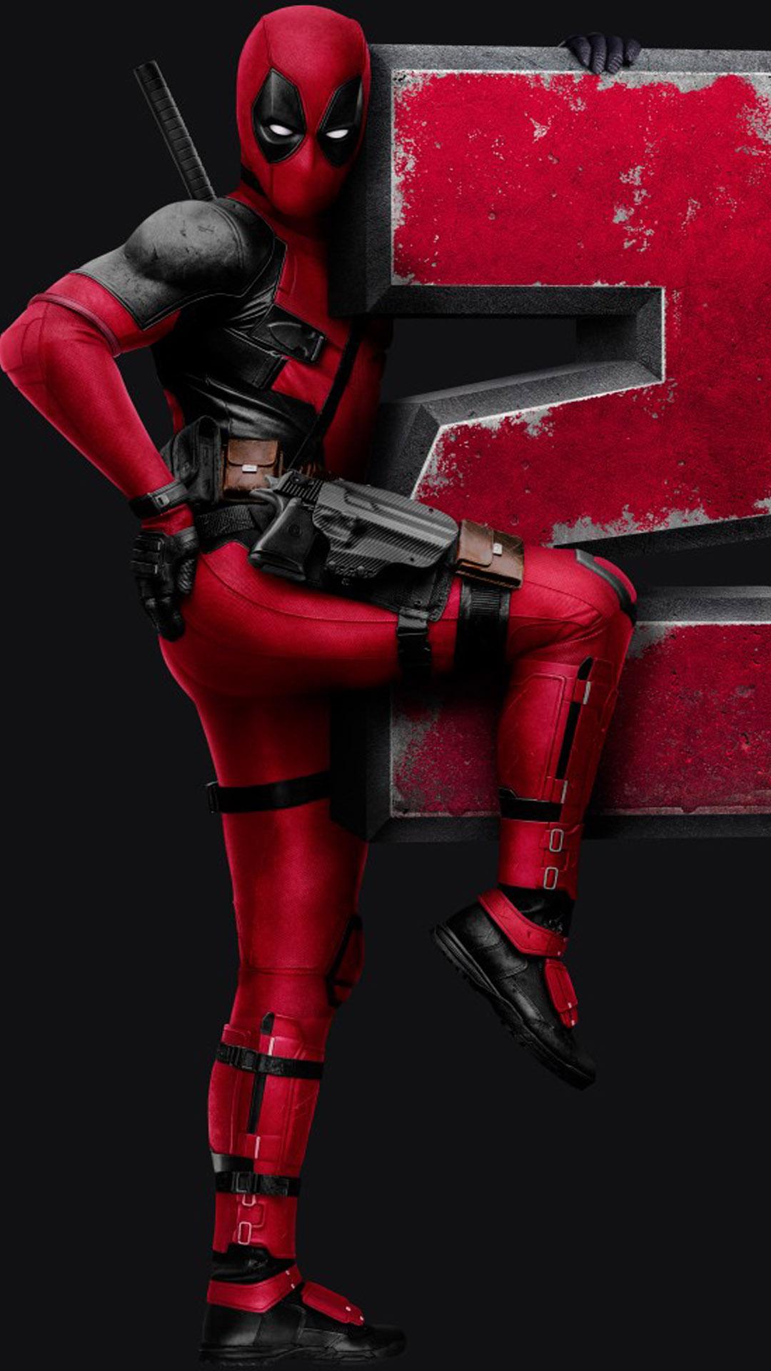 Deadpool 2 Poster Free 4K Ultra HD Mobile Wallpaper