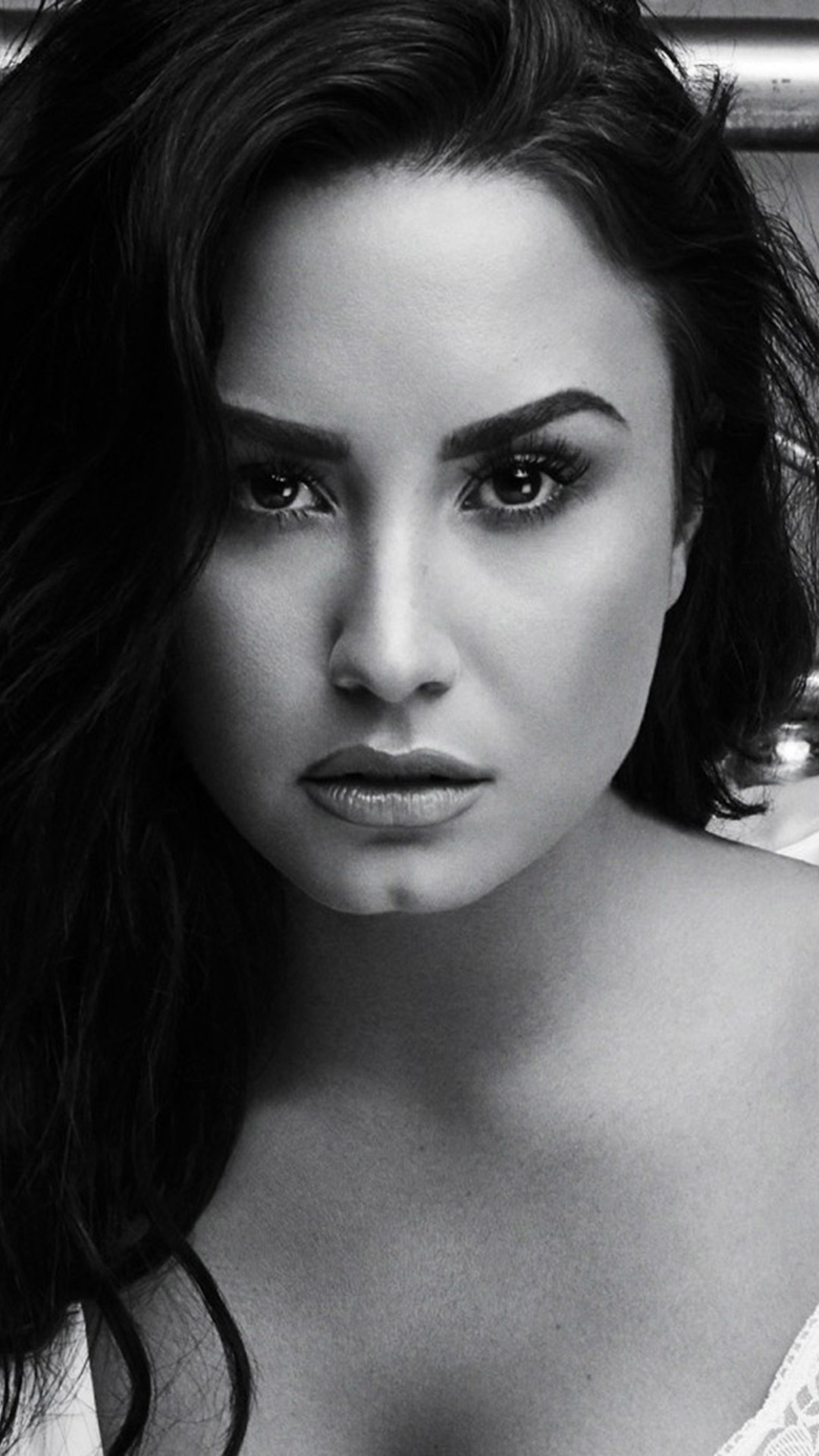 Demi Lovato Hot Black & White Photoshoot - Download Free ...
