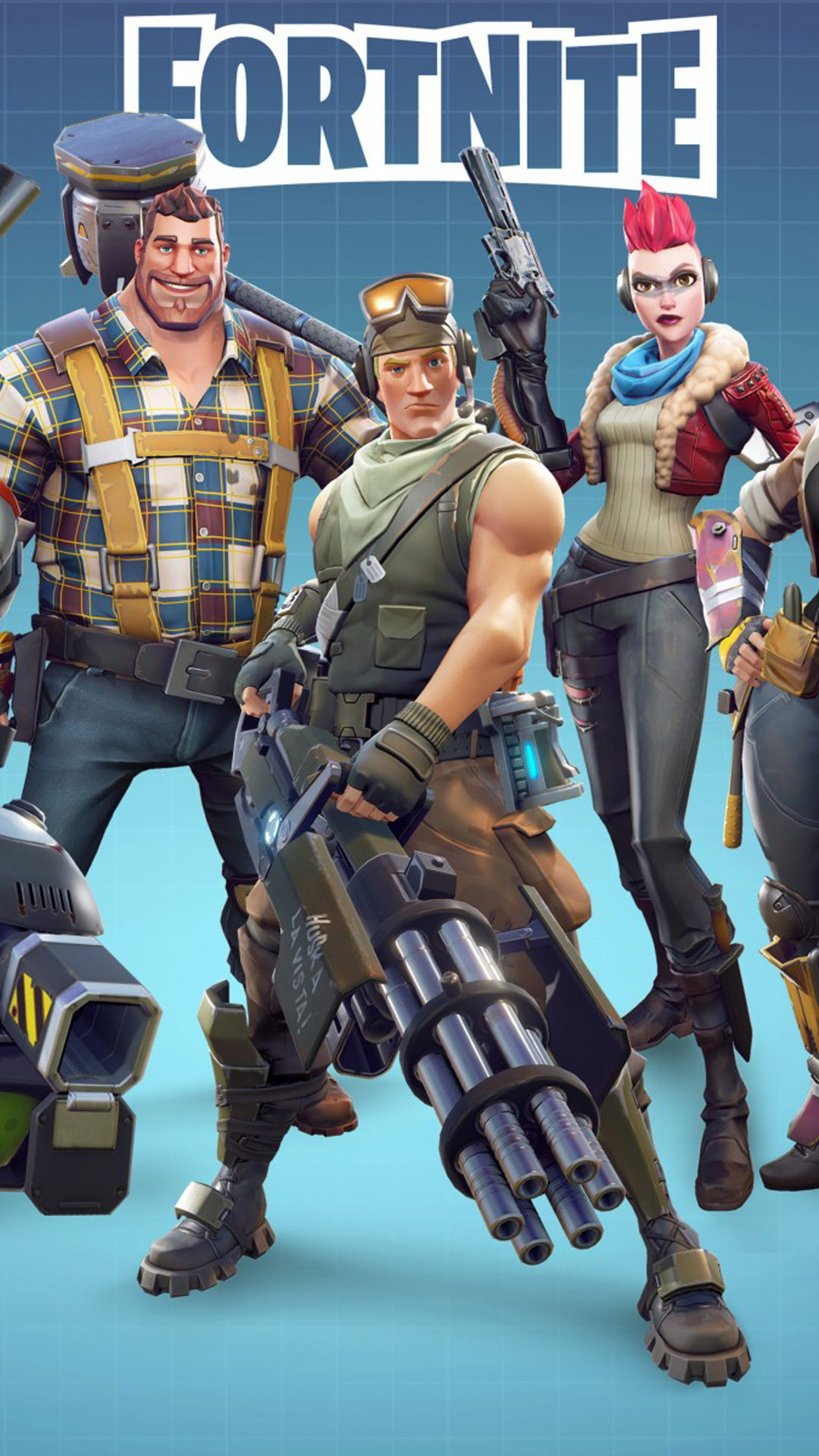 Fortnite Battle Royale Hd Mobile Wallpaper Download Free 100 Pure