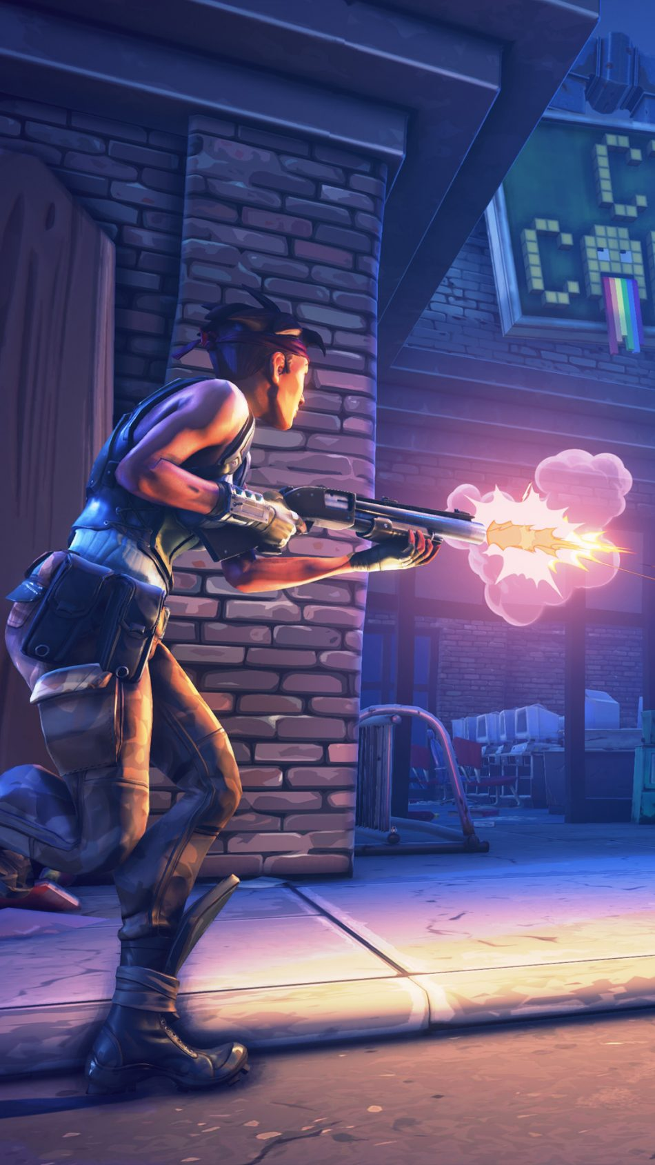 Download Fortnite Battle Royale Shooting Free Pure 4k Ultra Hd