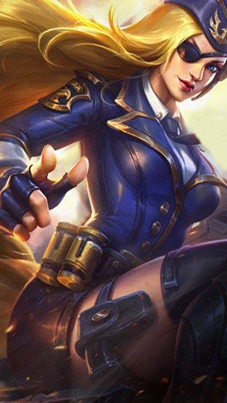 General Rosa Lesley Mobile Legends HD Mobile Wallpaper