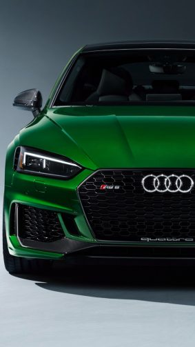 Greem Audi RS 5 Sportback HD Mobile Wallpaper