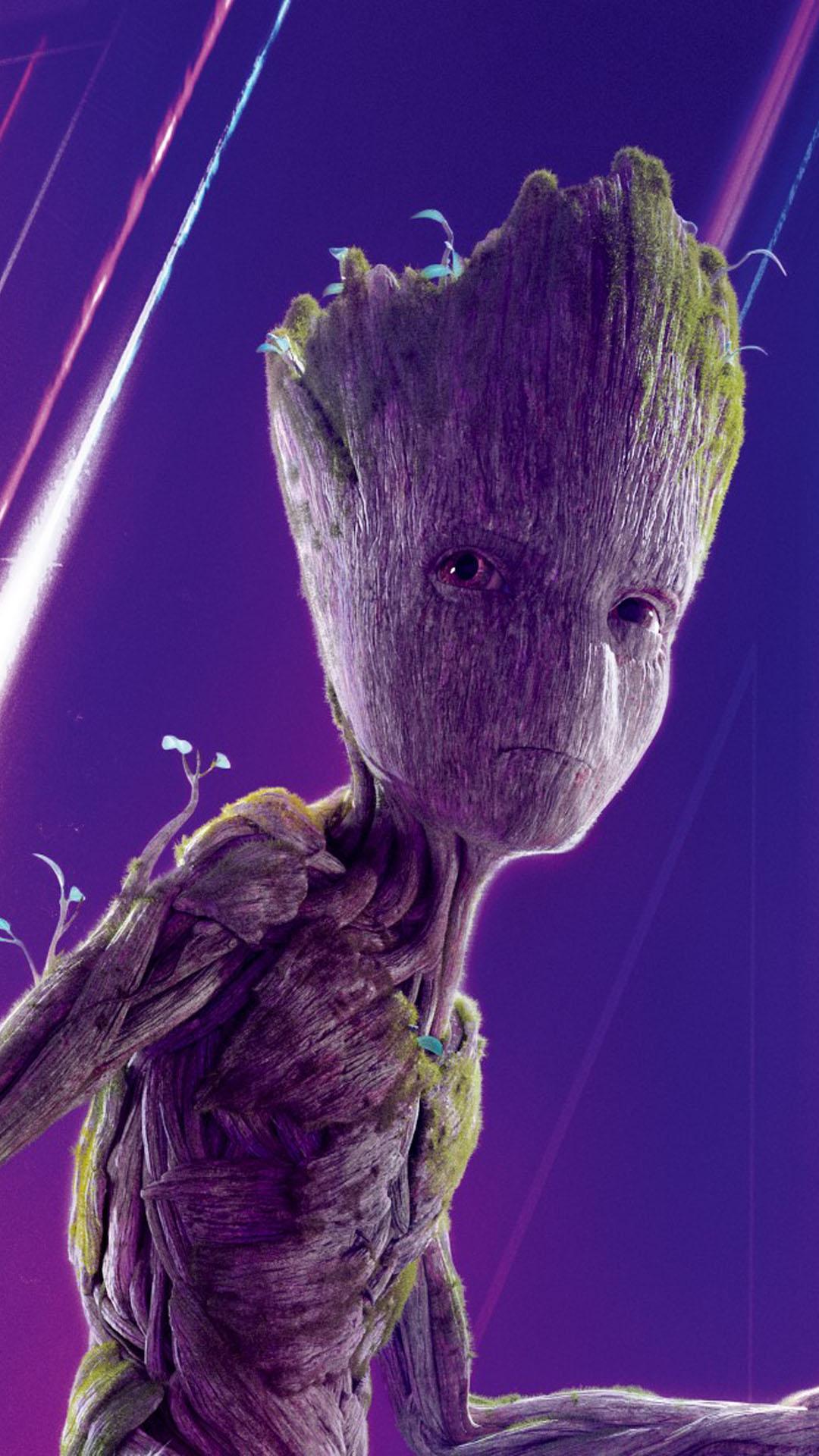 Download Groot In Avengers Infinity War Free Pure 4K Ultra HD Mobile