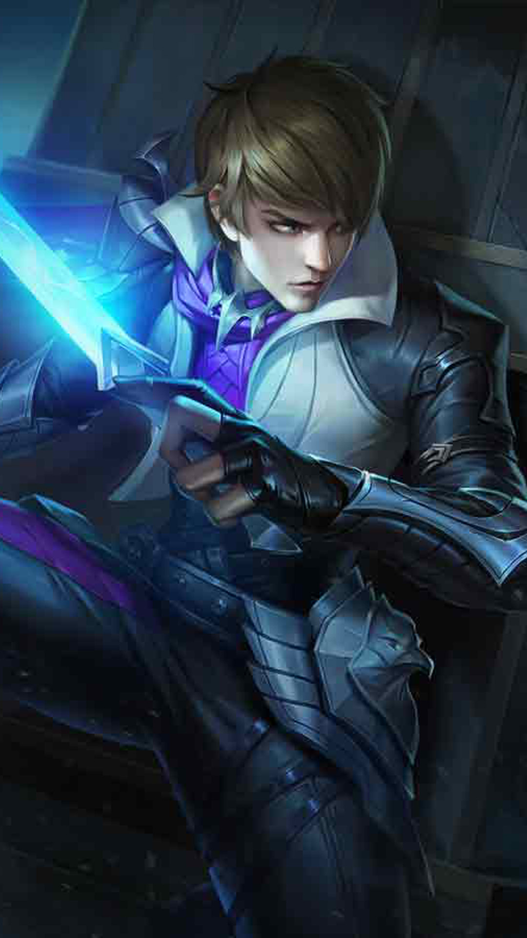 Download Gusion Holy Blade Mobile Legends Free Pure 4k Ultra Hd Mobile Wallpaper