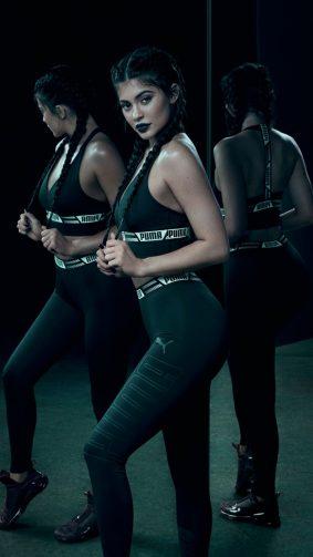 Kylie Jenner Puma Photoshoot 2018 HD Mobile Wallpaper