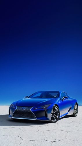 Lexus LC 500H Structural Blue Edition HD Mobile Wallpaper