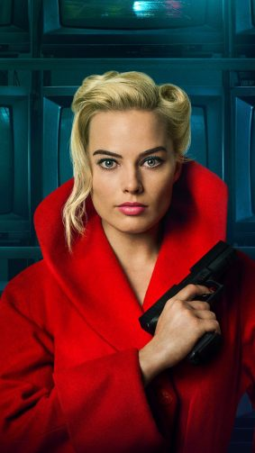 Margot Robbie In Terminal 2018 HD Mobile Wallpaper