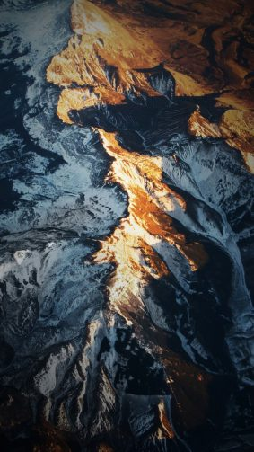 Mountain Range HD Mobile Wallpaper