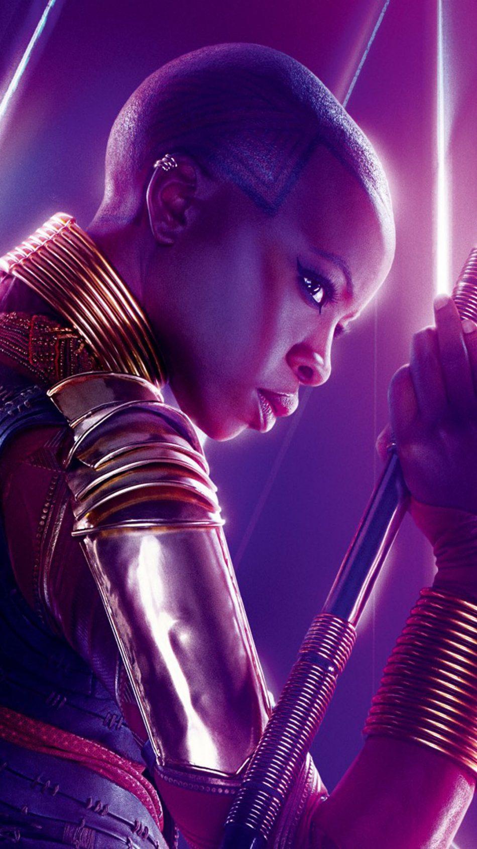 Okoye In Avengers Infinity War 4K Ultra HD Mobile Wallpaper