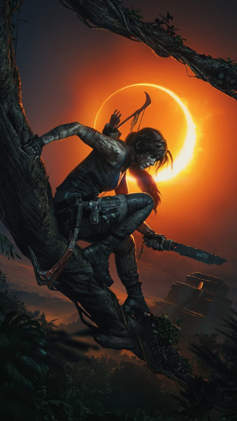 Shadow of The Tomb Raider PS 4 Game HD Mobile Wallpaper