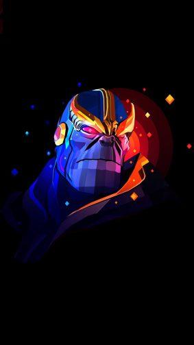 Thanos Artwork HD Mobile Wallpaper