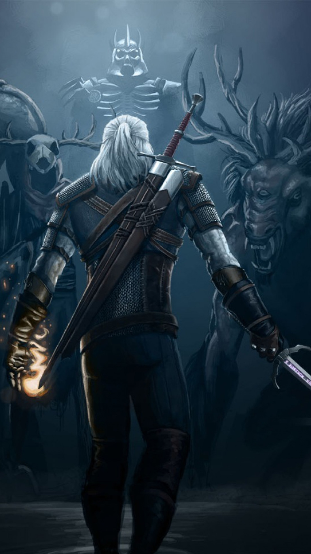 The Witcher 3 Game 4K Ultra HD Mobile Wallpaper