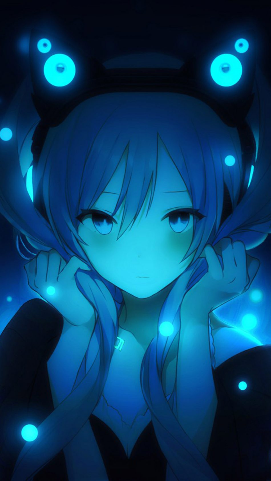 Download Hatsune Miku Anime Girl Free Pure 4K Ultra HD