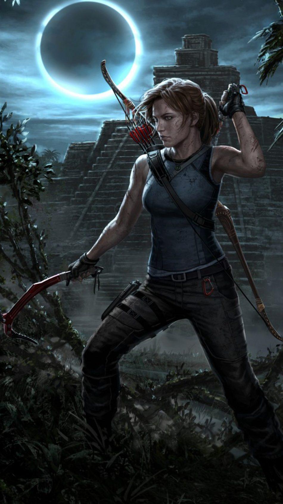Lara Crof Shadow Of The Tomb Raider Ps 4 4k Ultra Hd Mobile Wallpaper