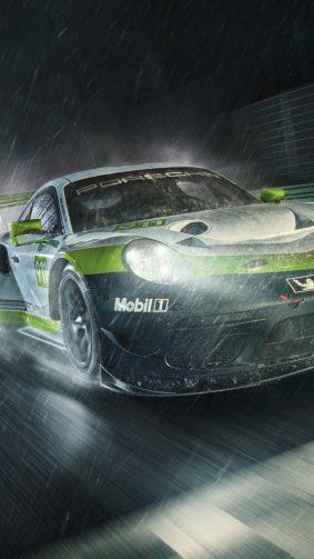 Porsche 911 GT3 R Concept HD Mobile Wallpaper