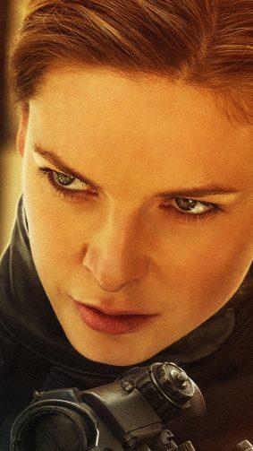 Rebecca Ferguson In Mission Impossible Fallout HD Mobile Wallpaper