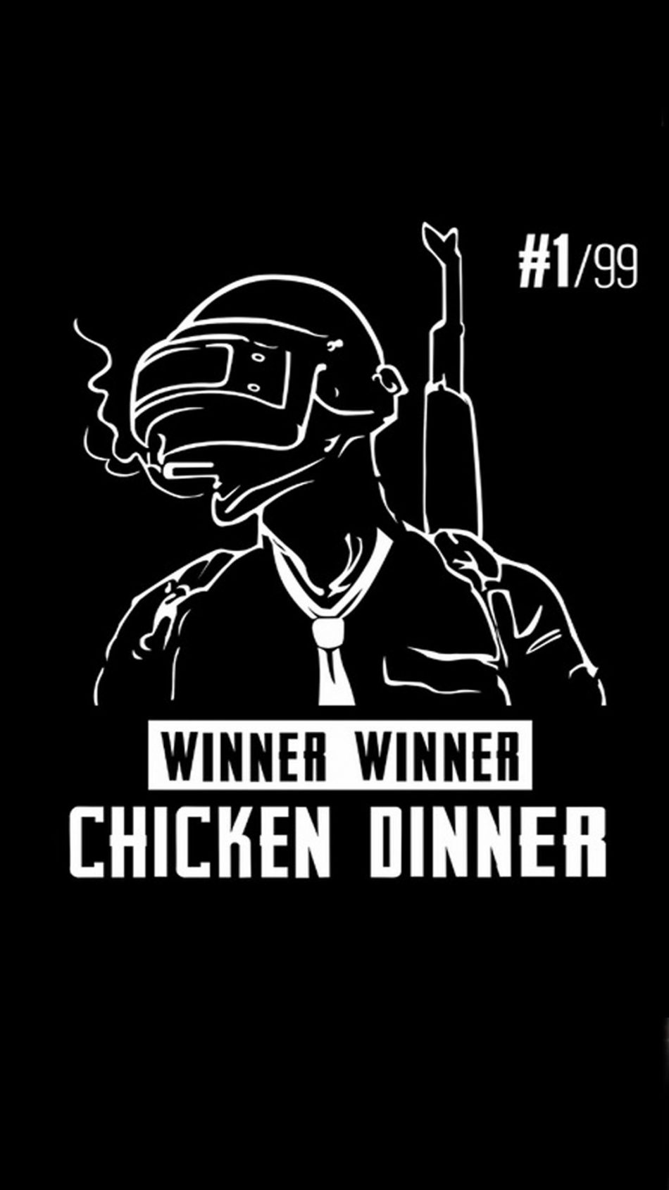 Winner Chicken Dinner PlayerUnknown's Battlegrounds (PUBG) HD Mobile Wallpaper