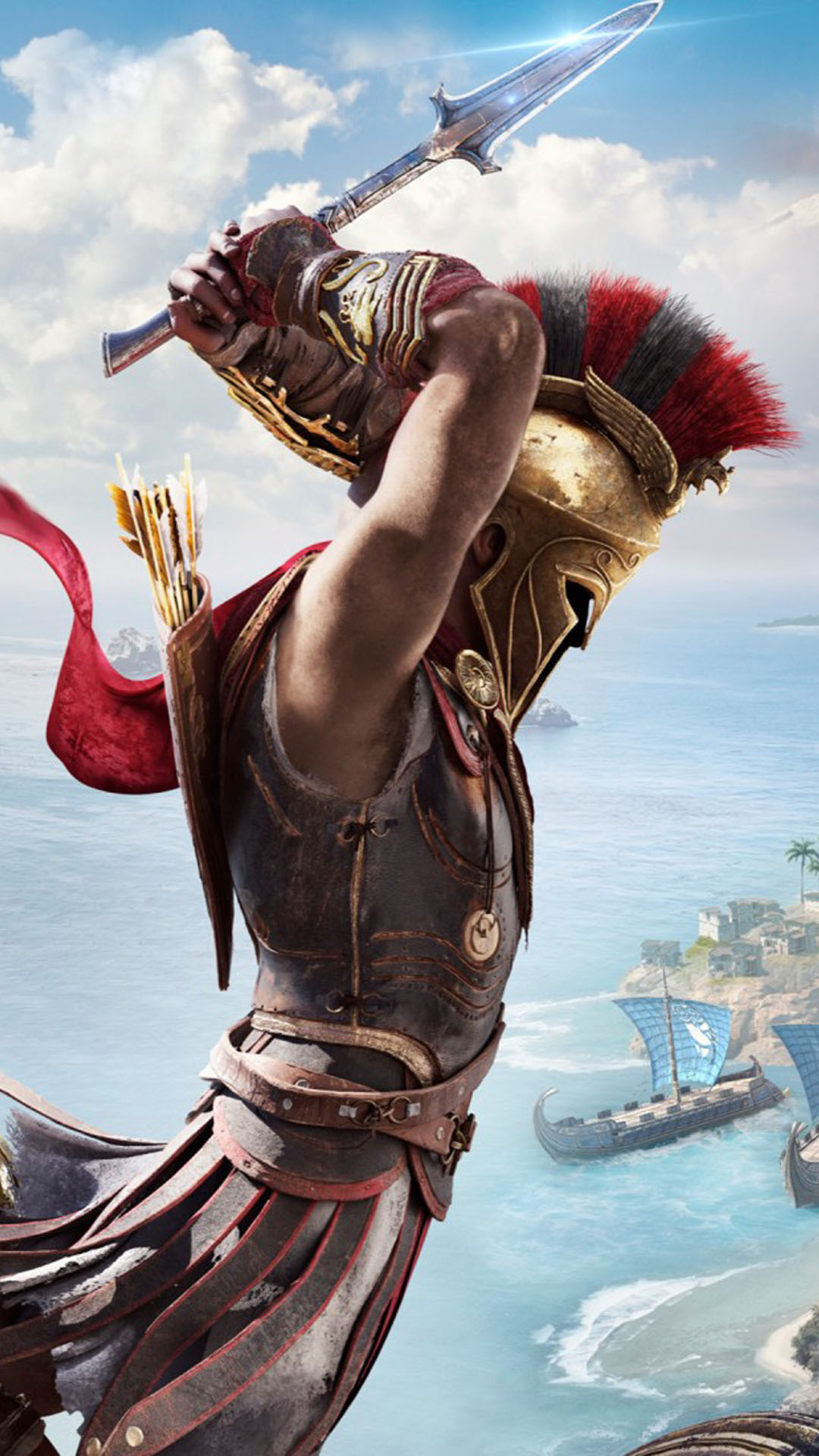 Assassin S Creed Odyssey 4k Ultra Hd Mobile Wallpaper