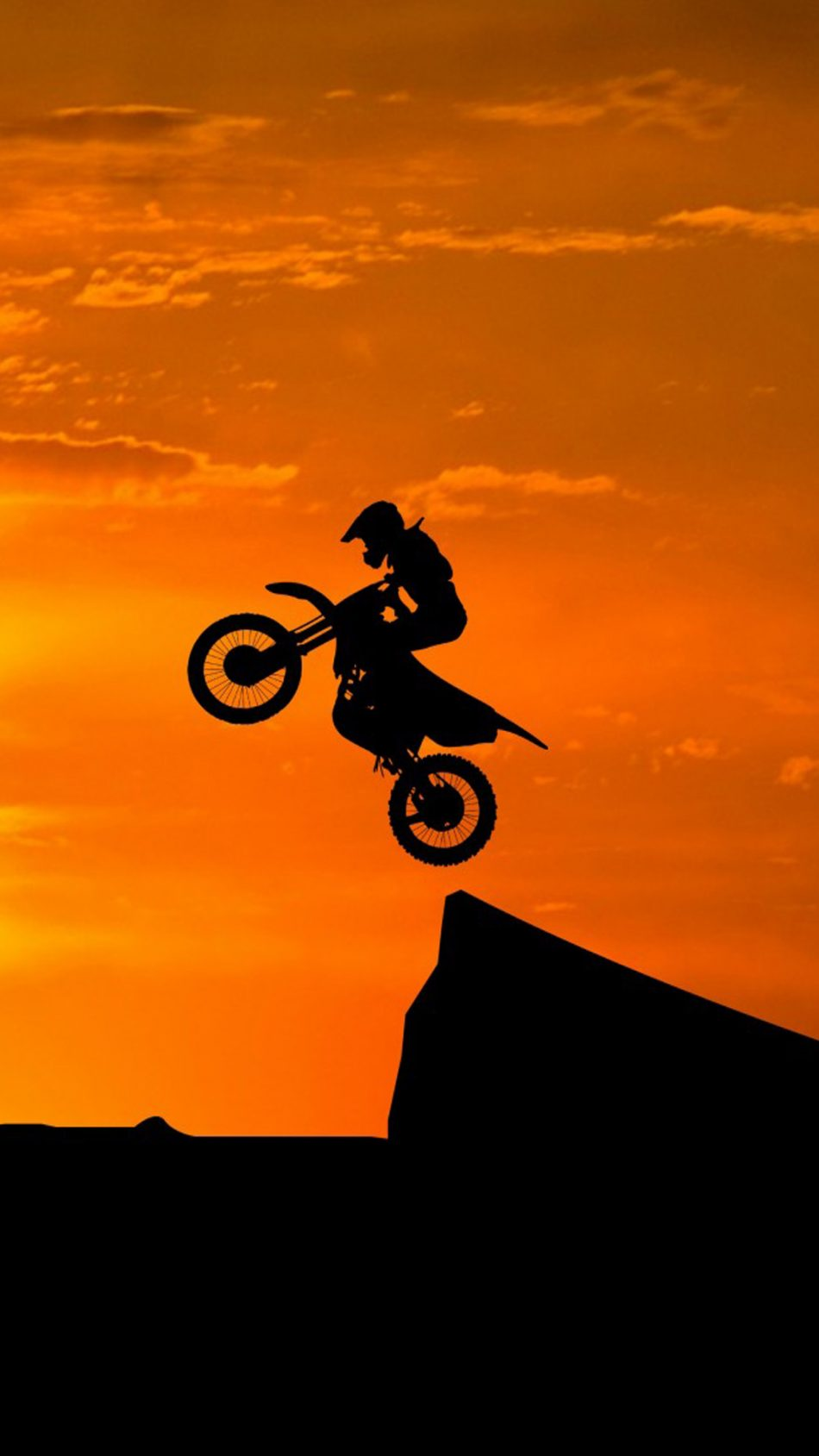 Download Dirt Bikes Stunts Sunset Free Pure 4k Ultra Hd